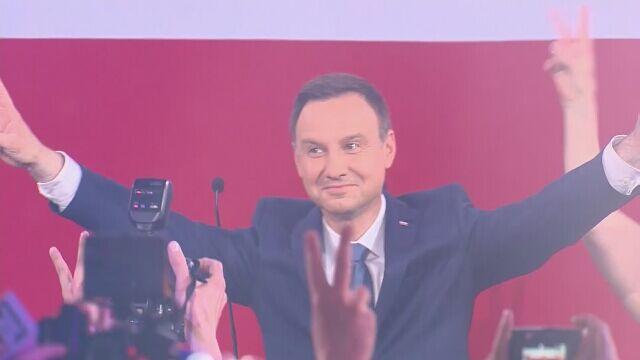 Andrzej Duda według sondaży został nowym prezydentem Polski