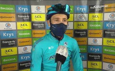 Miguel Angel Lopez po 17. etapie Tour de France