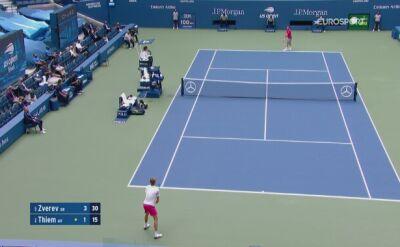 Skrót finału US Open Alexander Zverev - Dominic Thiem