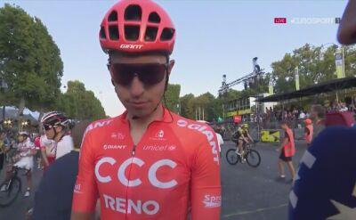 Łukasz Wiśniowski podsumował Tour de France