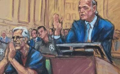 Trwa proces miliardera Jeffrey'a Epsteina