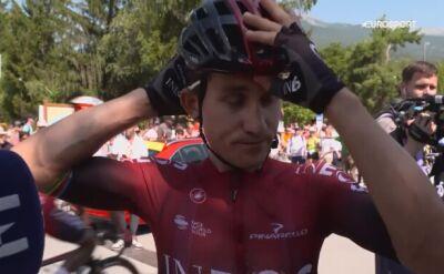 Michał Kwiatkowski przed 18. etapem Touru