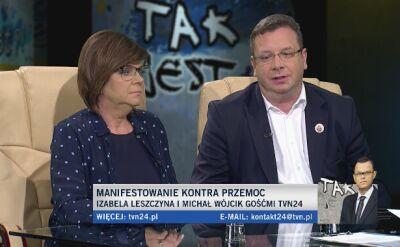 """Michał Wójcik w """"Tak jest"""" o umorzeniu postępowania w sprawie festiwalu """"Orle Gniazdo"""""""