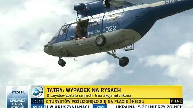 Wypadek w Tatrach