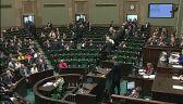 Posłowie PiS opuszczają salę plenarną
