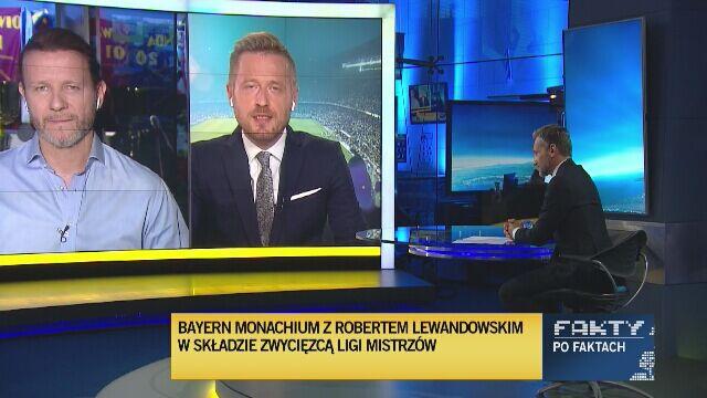 Radosław Majdan i Michał Kołodziejczyk o sukcesie Roberta Lewandowskiego w LM