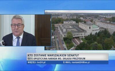 Czarnecki: senatorowie niezrzeszerzni mogą się podzielić