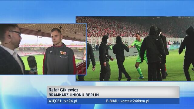Gikiewicz bohaterem derbów Berlina (cała rozmowa z bramkarzem)