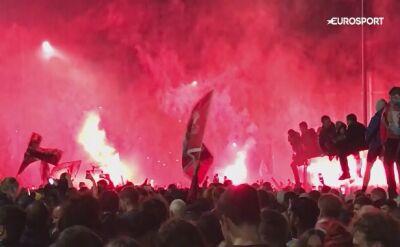 Kibice Liverpoolu świętowali mistrzostwo pod Anfield
