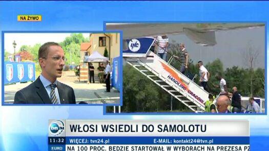 Włosi wrócą jeszcze do Wieliczki