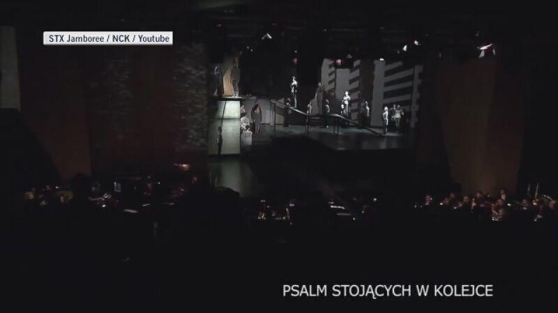 """Fragment i historia przedstawienia """"Kolęda-Nocka"""" z lat 80. (2011)"""