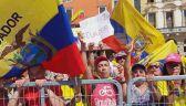 Kibice z Ekwadoru już świętują wygraną Carapaza