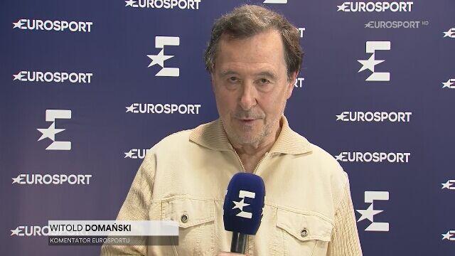 Witold Domański po meczu Magdy Linette