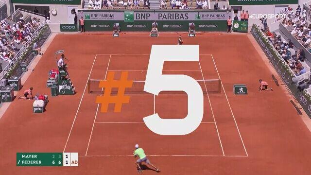 Najlepsze zagrania 8. dnia French Open