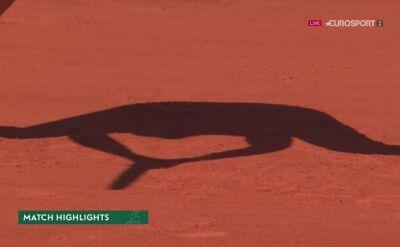 Skrót meczu Linette - Paquet