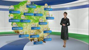 Prognoza pogody na poniedziałek 9.12