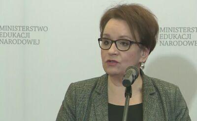 Minister edukacji o kosztach reformy w samorządach
