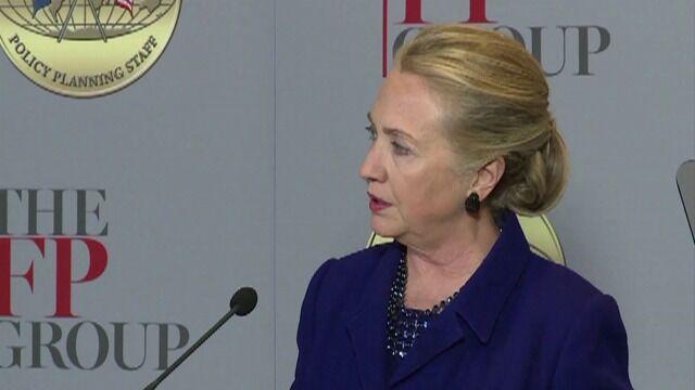 Clinton: Pokój tylko na drodze bezpośrednich negocjacji