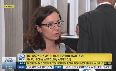 Kamila Gasiuk-Pihowicz komentuje wyrok TK