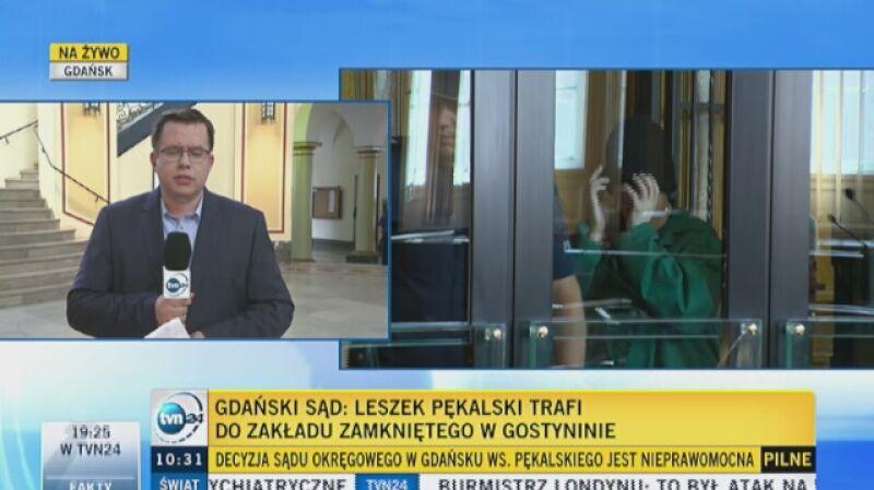 Jest decyzja sądu w sprawie Pękalskiego
