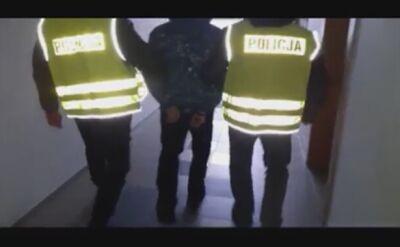 Podejrzany o podwójne zabójstwo zatrzymany przez policjantów