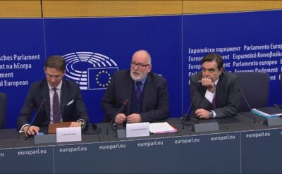Timmermans: cieszę się, że nowy szef polskiego MSZ szuka ze mną dialogu