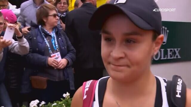 Wywiad z Ashleigh Barty po awansie do finału French Open