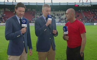 Michał Probierz po meczu z Pogonią Szczecin