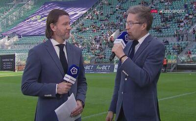 Eksperci Eurosportu ocenili w przerwie grę Śląska Wrocław