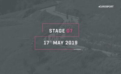 Profil 7. etapu Giro d'Italia
