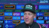Pascal Ackermann po wygraniu 5. etapu Giro