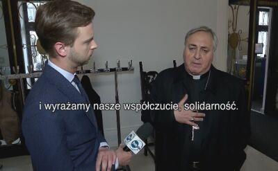Arcybiskup Salvatore Pennacchio: wyrażamy swoje współczucie, solidarność