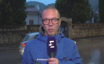 """Adam Probosz o 5. etapie Giro. """"Włosi nie pamiętają tak deszczowego maja"""""""