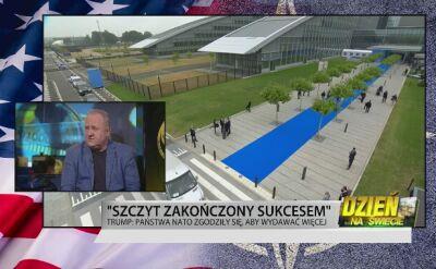 Bogusław Pacek: Trump uderzył w to co jest słabością NATO