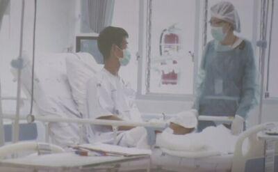 Pierwsze zdjęcia dzieci ze szpitala w Tajlandii