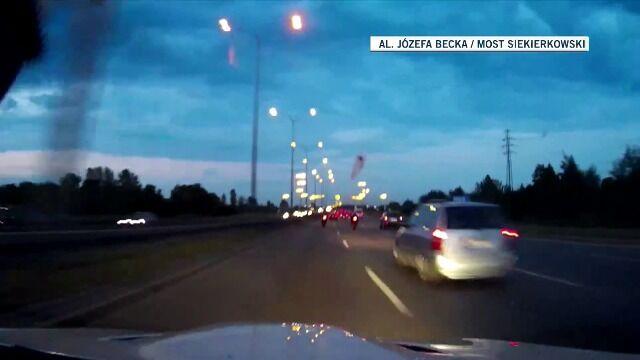 Policjanci nie zareagowali na pędzące BMW
