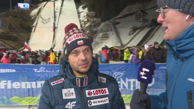 Rozmowa z Michalem Dolezalem po sobotnim konkursie w Predazzo