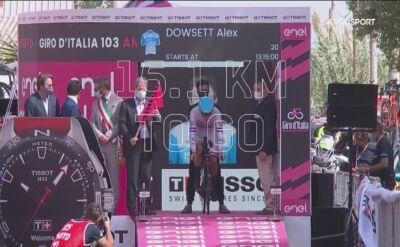 Najciekawsze momenty 1. etapu wyścigu Giro d'Italia