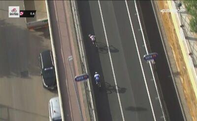 Finisz 2. etapu Giro d'Italia