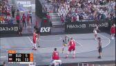 Wysokie prowadzenie Polski w meczu ze Słowenią na ME w koszykówce 3x3