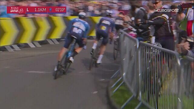 Walka na ostatnim kilometrze 7. etapu Tour of Britain
