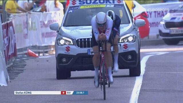 Stefan Kueng mistrzem Europy w kolarstwie w jeździe indywidualnej na czas