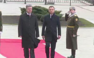 Andrzej Duda przyjechał do Kijowa