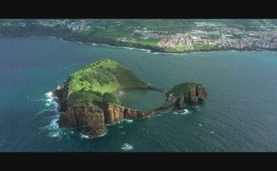 Niezwykłe zdjęcia z zawodów w cliff divingu w portugalskich Azorach