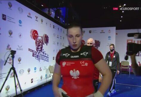 ME sztangistów: potrójny rekord Kingi Kaczmarczyk w kat. 87 kg