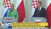 Prezydent Chorwacji: zadaniem poprawa życia naszych obywateli
