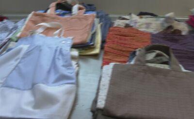 Szyją torby, żeby pozbyć się foliówek z gminnych sklepów