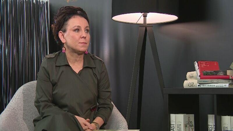 Laureatka Nagrody Nobla, Olga Tokarczuk rozmawiała z Katarzyną Kolendą- Zaleską