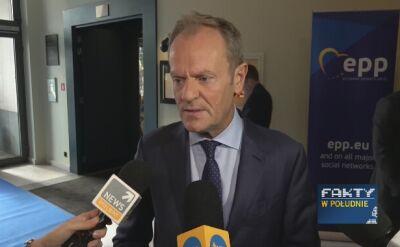Donald Tusk o porozumieniu w sprawie brexitu
