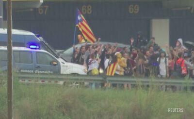 Blokada lotniska El Prat